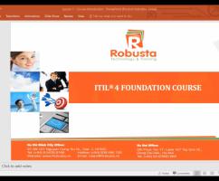 "Robusta khai giảng khóa trực tuyến ""Information Technology Infrastructure Library (ITIL) v4 Foundation"""