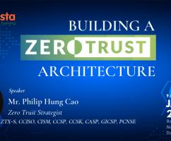 """Robusta tổ chức hội thảo với chủ đề """"BUILDING A ZERO TRUST ARCHITECTURE"""" ngày 11/01/2020 tại Hà Nội"""