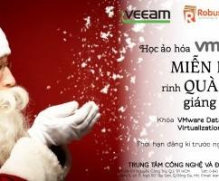 Học Ảo hoá VMware MIỄN PHÍ - Rinh quà Giáng Sinh