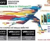 Cơ hội thi 3 chứng chỉ VMware miễn phí và Trúng iPod nano