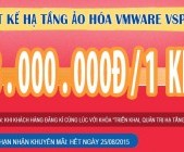 """Chỉ 3.000.000đ cho khóa """"Thiết kế hạ tầng ảo hóa VMware vSphere"""""""