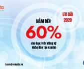 Robusta chiêu sinh các khóa đào tạo combo với ưu đãi giảm đến 60%!!!