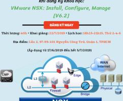 """Ưu đãi chào hè – Giảm 5.000.000VNĐ khi đăng kí khóa """"VMware NSX: Install, Configure, Manage [V6.2]"""" tại TPHCM"""